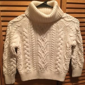 Polo Ralph Lauren Cream Cable Knit Sweater